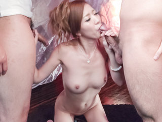 Eri Inoue pleases her lust with a tasty cock